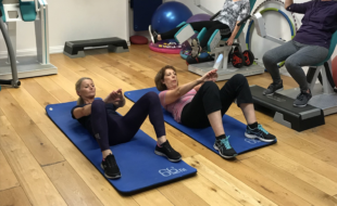 Trainhers Ladies only gym – workout